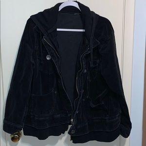 Pennington's corduroy jacket